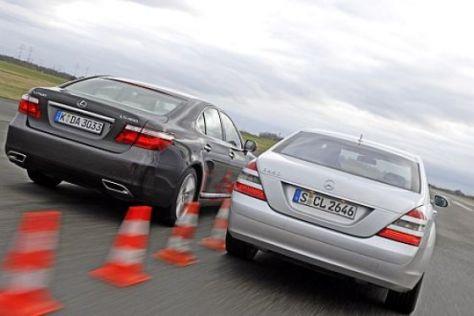 S-Klasse gegen Lexus LS 460