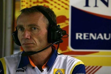 Das neue Oberhaupt des Renault-Teams: Bob Bell ist ab sofort der Teamchef