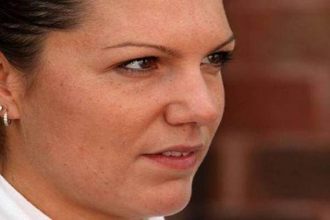 Katherine Legge will endlich ohne größere Zwischenfälle ankommen