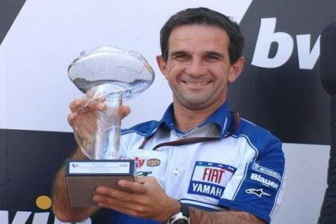 Davide Brivio feiert nur zu gern weitere Erfolge mit Valentino Rossi