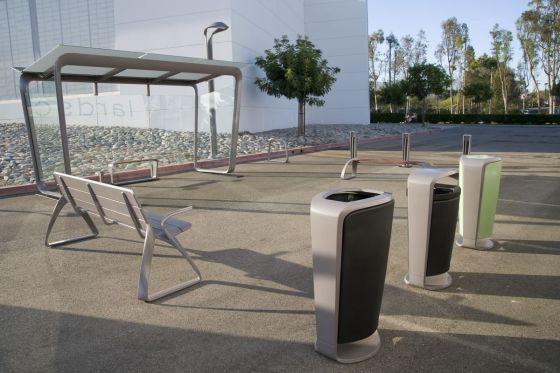 Haltestellen-Mobiliar von BMW DesignworksUSA