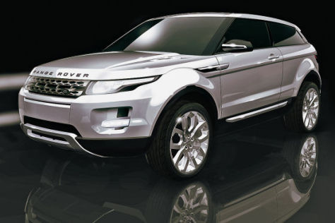 Land Rover LRX Studie