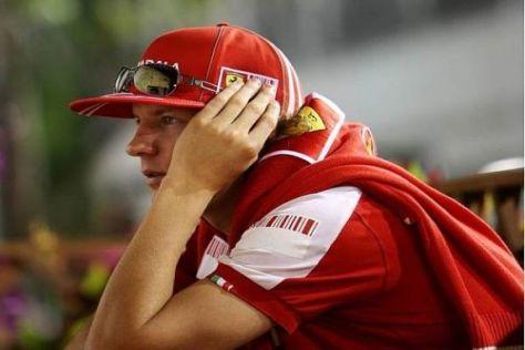 Kimi Räikkönen dämmert, dass er sich für 2010 ein neues Team suchen muss