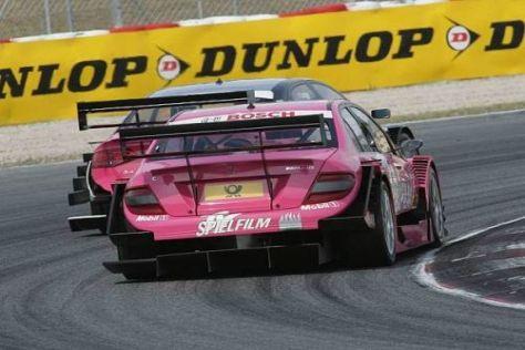 Damenduell: Susie Stoddart am Heck von Katherine Legges Audi