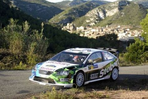 Matthew Wilson hat sich mit Fahrstunden auf die Spanien-Rallye vorbereitet
