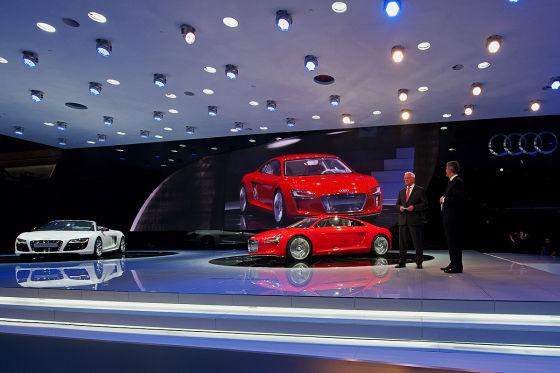 IAA-Pressekonferenz Audi