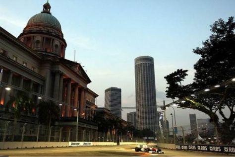 Timo Glock im Freien Training zum Großen Preis von Singapur