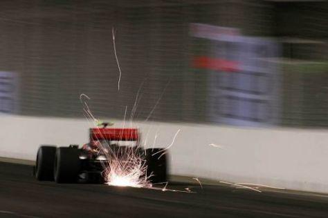 Heikki Kovalainen war heute schneller unterwegs als Teamkollege Hamilton
