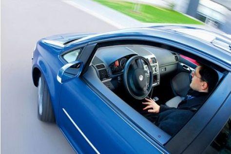 VW Touran mit Parkassistent