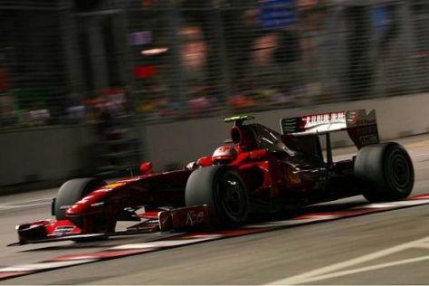 Kimi Räikkönen schaffte nicht wie erhofft den Sprung in den dritten Durchgang