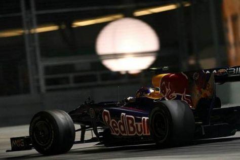 Vettel ist mit dem Qualifying zufrieden, auch wenn er gern vorn stehen würde