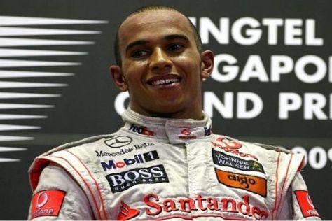 Lewis Hamilton holte sich den Sieg in der Nacht von Singapur