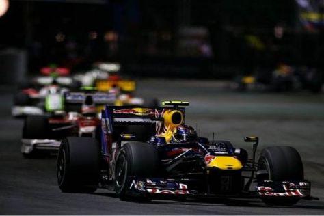 Sebastian Vettel erlebte ein Rennen mit einigen unglücklichen Fehlern