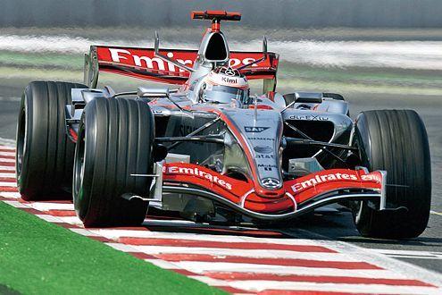 Kimi Räikkönen im McLaren