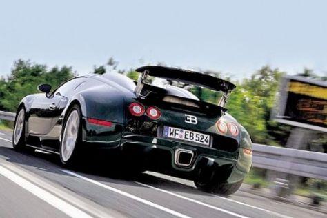 Test Bugatti Veyron 16.4