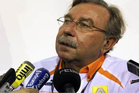 Jean-François Caubet will die Formel 1 mit neuen Ideen attraktiv gestalten
