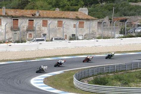 Die Strecke in Estoril ist für die Techniker immer wieder eine Herausforderung
