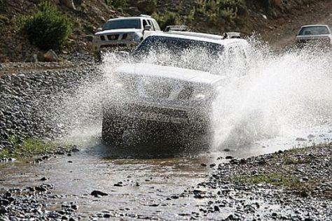 4x4 Challenge von Nissan und AUTO BILD