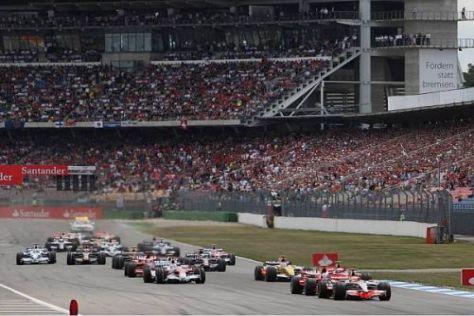 Grünes Licht: Die Formel 1 darf in Hockenheim weiter Gas geben
