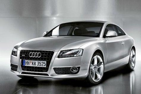 Erste Bilder vom Audi A5/S5