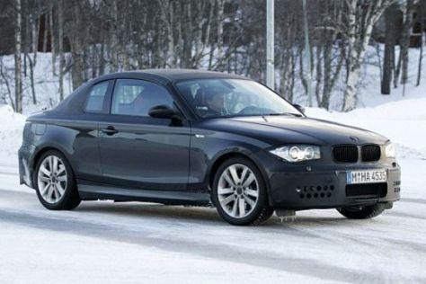 Erlkönig BMW 1er Coupé
