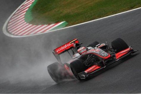 Heikki Kovalainen war am Freitag der schnellste Mann auf der Strecke