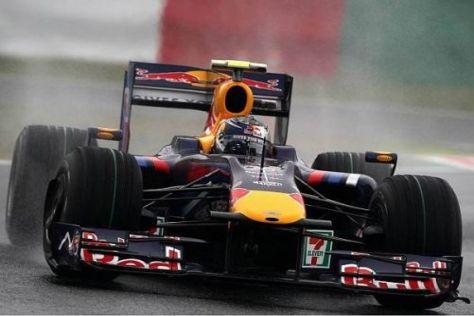 Vettel musste sich am Freitagnachmittag nur Adrian Sutil geschlagen geben