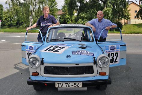 Trabant P 601 Walter Röhrl Peter Arndt