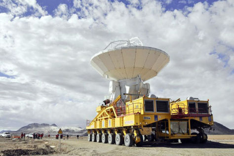 Spezialtransporter Otto in den Anden