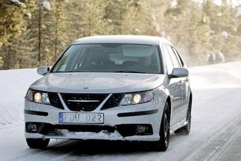 Erlkönig Saab 9-3 (Facelift)