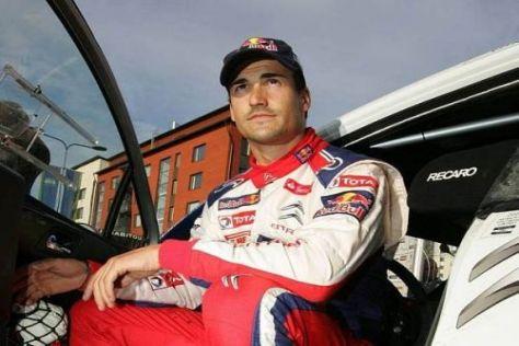 Daniel Sordo hat am ersten Vormittag in Spanien alle Bestzeiten geholt