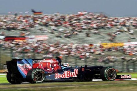 Sébastien Buemi schaffte das Kunststück, gleich zwei Mal zu crashen