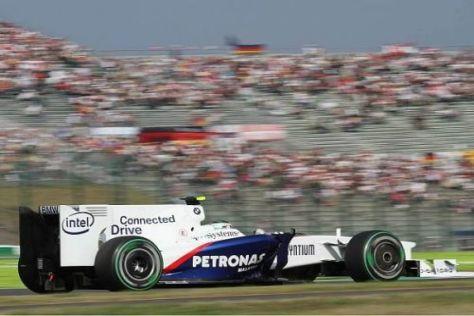 Nick Heidfeld schaffte den Sprung in den dritten Qualifying-Durchgang