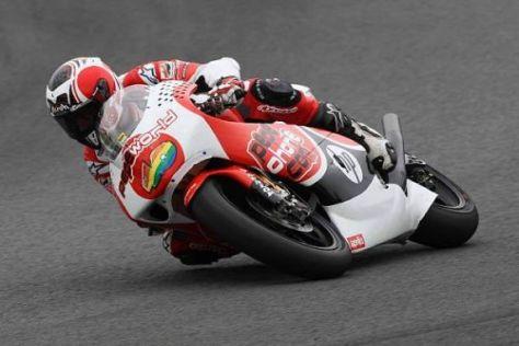 Hector Barbera ließ den Bestzeiten aus den Trainings die Pole-Position folgen