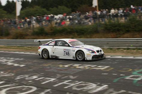Europa-Premiere: BMW M3 GT2 beim ersten Nordschleifen-Rennen