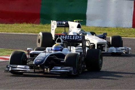 Nico Rosberg kämpfte sich mit einer guten Strategie auf den fünften Rang vor