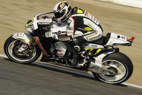 Randy de Puniet erlebte im Estoril-Rennen manch Rückschlag