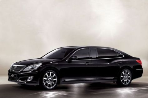 Hyundai Equus als Stretchversion VL500