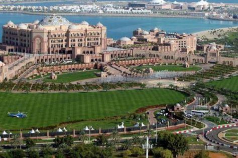 Das arabische Emirat Abu Dhabi freut sich auf die Formel 1