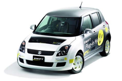 Suzuki Swift Plug-in Hybrid Konzept auf der Tokyo Motor Show 2009