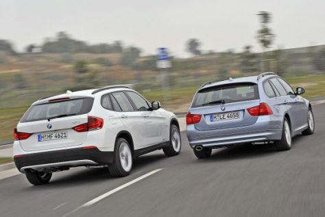 BMW X1 BMW 3er Touring