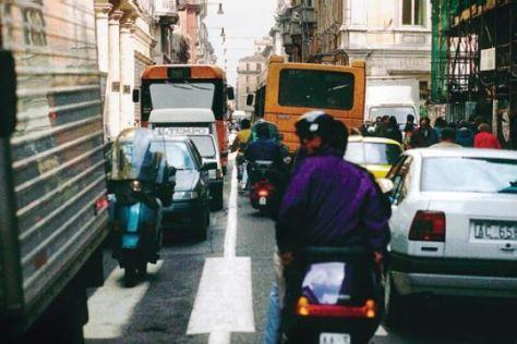 Autofreier Sonntag in Norditalien