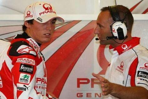 Aleix Espargaro soll sichangeblich mit Pramac für 2010 einig sein