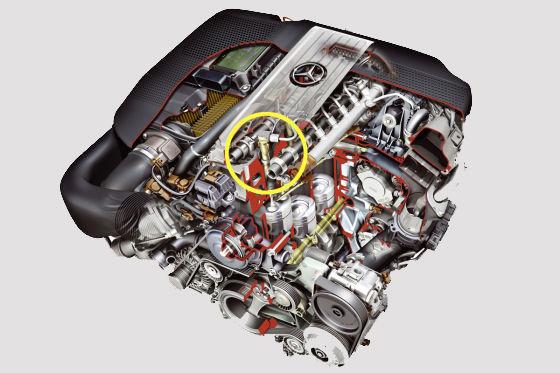 Mercedes-Motor OM 651