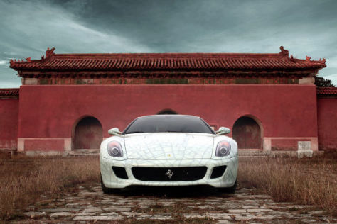 Ferrari 599 GTB Fiorano China Limited Edition von Lu Hao