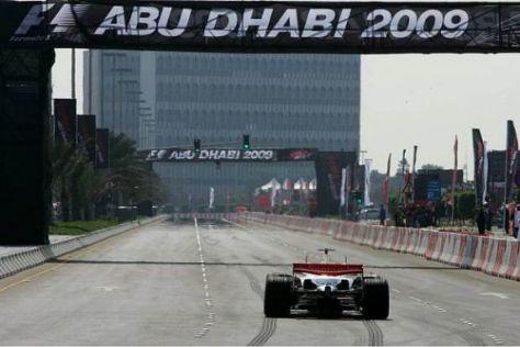 Abu Dhabi ist auf Kurs: In knapp einem Monat gibt der Kurs sein Formel-1-Debüt