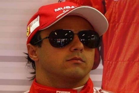 Felipe Massa wird in der kommenden Woche in einem Ferrari F2007 fahren