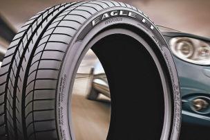 Grüne Umwelt-Reifen