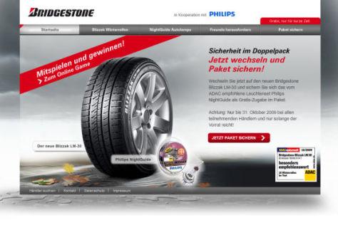 Bridgestone-Gewinnspiel