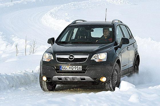 R8 im Schnee